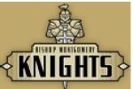 蒙哥马利主教中学-Logo,Bishop Montgomery High School-logo
