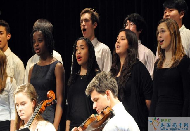 Brooks School -布鲁克斯高中-Brooks School的音乐演奏