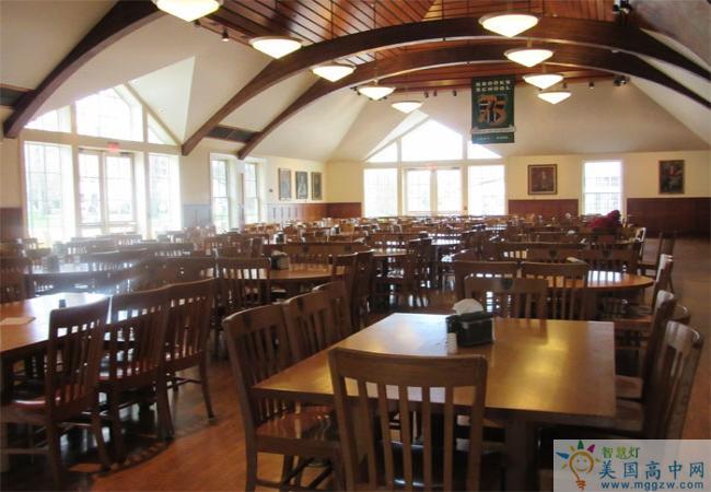 Brooks School -布鲁克斯高中-Brooks School餐厅
