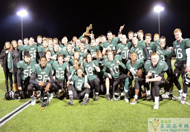 Brooks School -布鲁克斯高中-Brooks School的赢得橄榄球比赛