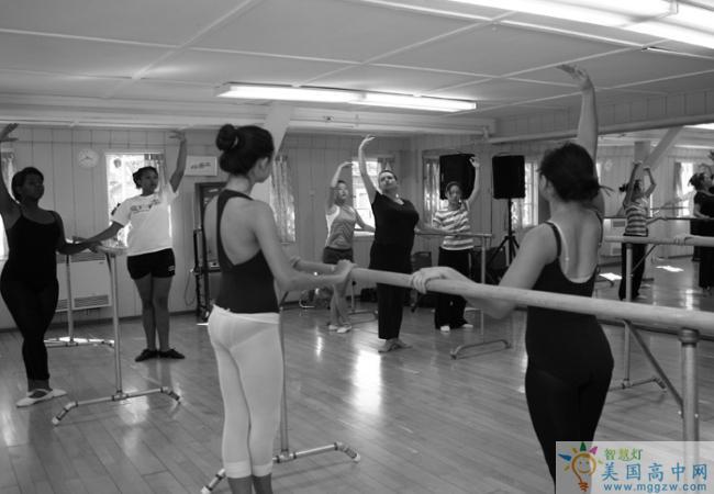 Cate School -凯特中学-Cate School的舞蹈训练