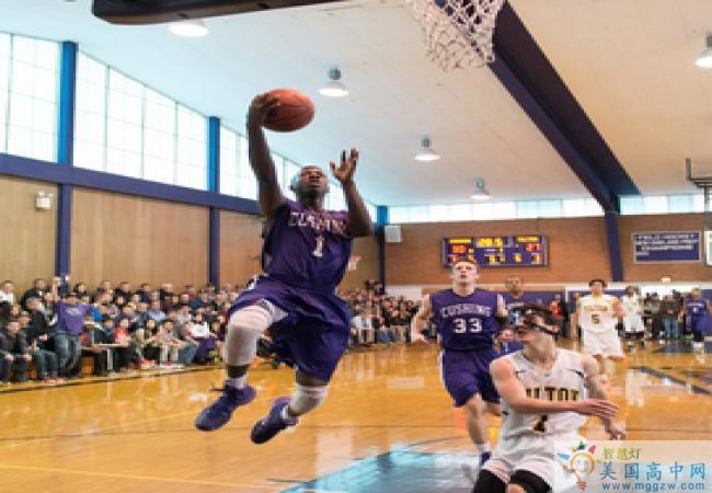 Cushing Academy -库欣中学-Cushing Academy的篮球比赛