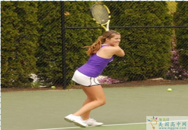 Cushing Academy -库欣中学-Cushing Academy的网球运动