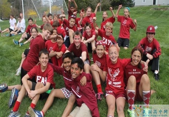 Fay School-菲尔中学-Fay School的运动员