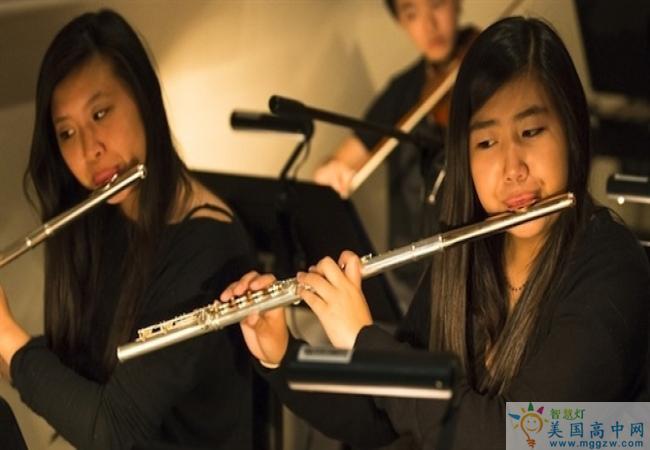Fay School-菲尔中学-Fay School的笛子演奏