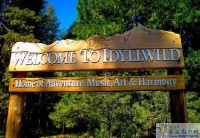 Idyllwild Arts Academy -埃迪怀德艺术高中-Idyllwild Arts Academy 的标语