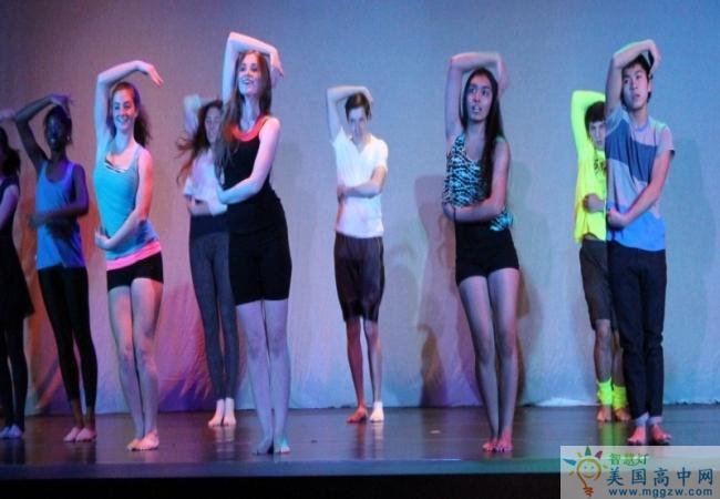 Kent School -肯特中学-Kent School的舞蹈表演