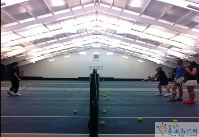 Kent School -肯特中学-Kent School的网球场