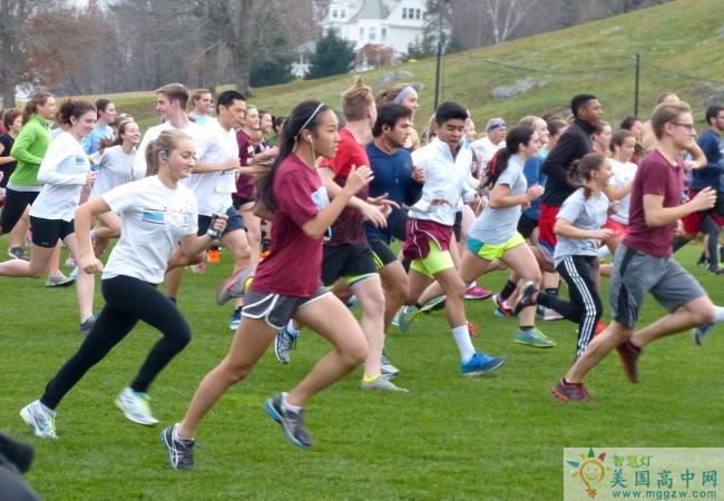 Northfield Mount Hermon School-北野山中学-Northfield Mount Hermon School的跑步比赛.