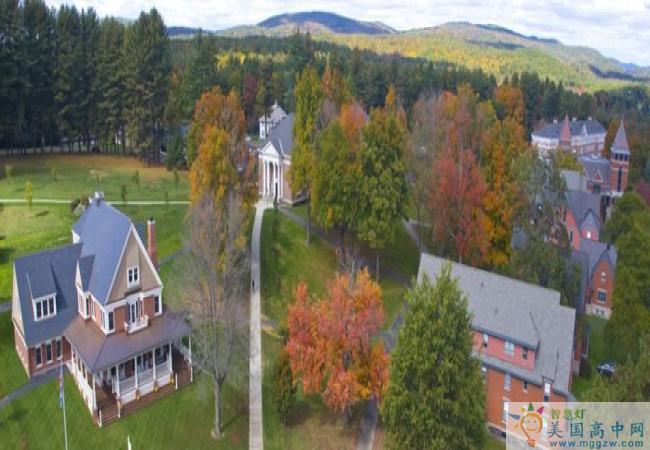 Northfield Mount Hermon School-北野山中学-Northfield Mount Hermon School的学校环境