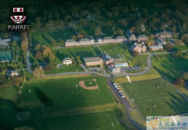 Pomfret School -庞姆弗雷德高中 -Pomfret 校园环境