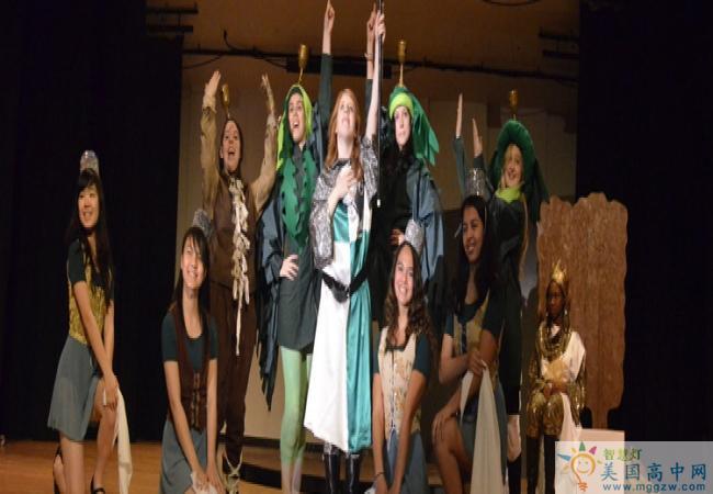San Domenico School- 圣多米尼克高中-San Domenico School的文艺表演