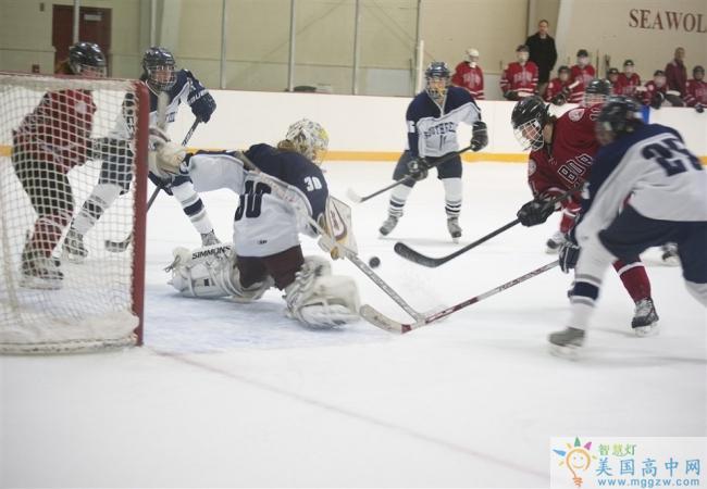 Tabor Academy-泰博中学-Tabor Academy的冰球比赛