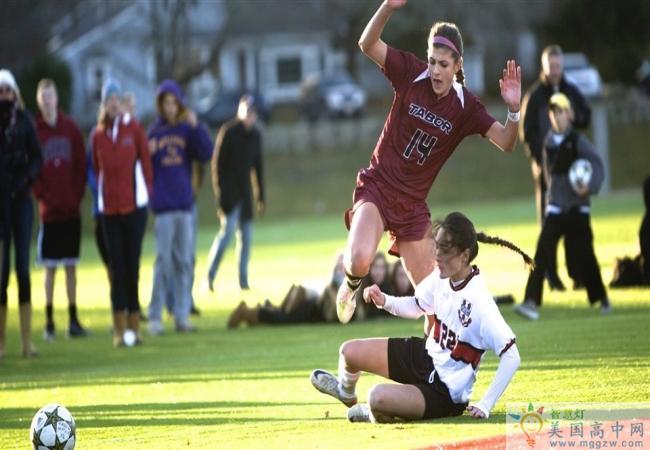 Tabor Academy-泰博中学-Tabor Academy的足球比赛