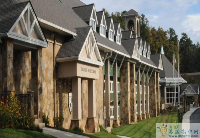 Tallulah Falls School-塔卢拉弗中学-Tallulah Falls School的建筑