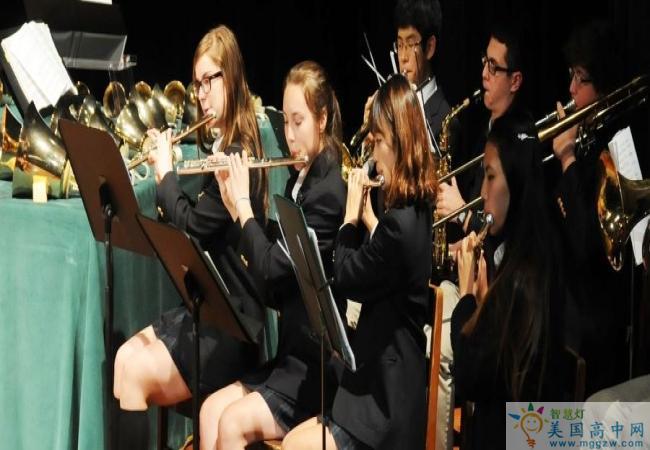 Tallulah Falls School-塔卢拉弗中学-Tallulah Falls School的音乐演奏