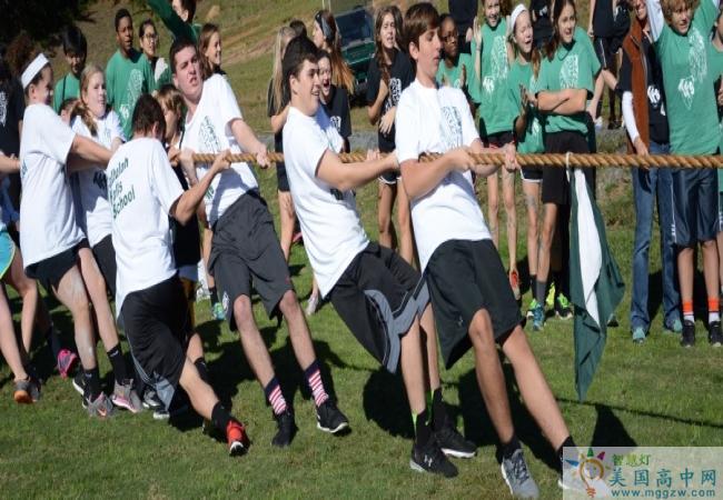 Tallulah Falls School-塔卢拉弗中学-Tallulah Falls School的拔河比赛