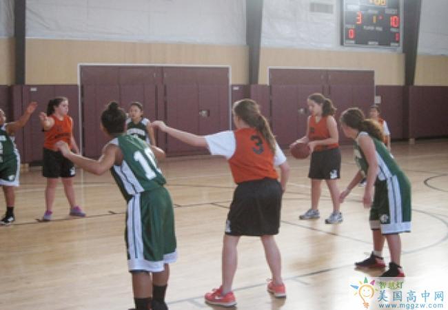 The Athenian School-雅典娜高中-Athenian School的篮球训练