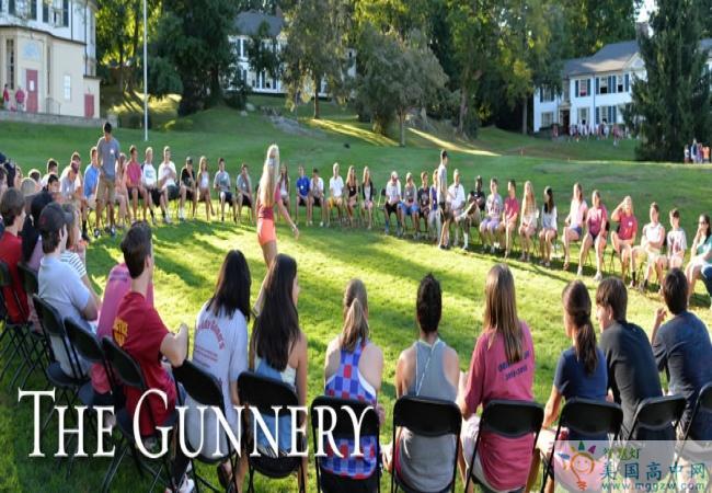 The Gunnery School-格纳瑞中学  -Gunnery School的学生做游戏