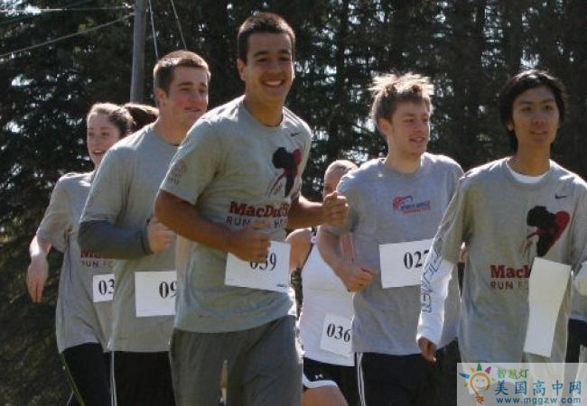The MacDuffie School-马克杜菲高中-MacDuffie School的跑步比赛