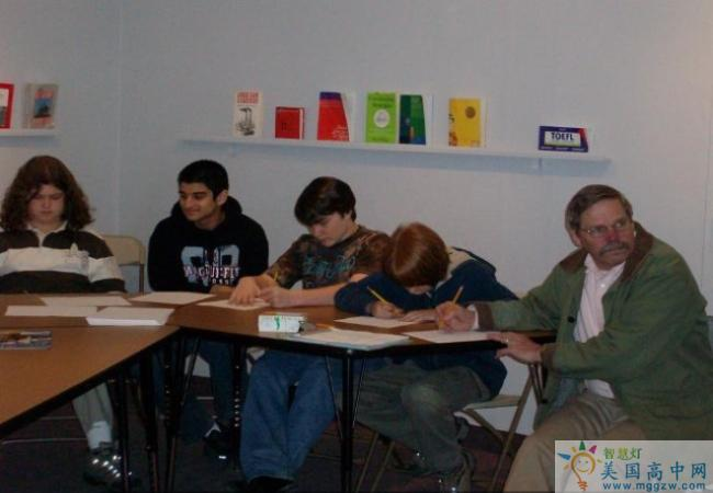 The MacDuffie School-马克杜菲高中-MacDuffie School的课堂学习