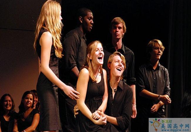 The Thacher School -撒切尔高中-Thacher School的歌唱表演
