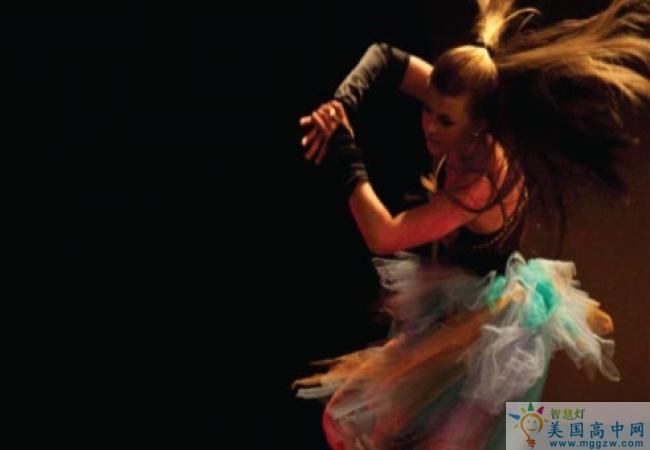 The Williston Northampton School-威利斯顿.诺塞普顿高中-The Williston Northampton School的舞蹈表演