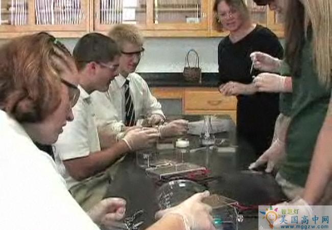 Bishop Ludden Junior-Senior High School-卢登中学-Bishop Ludden Junior Senior High School科学实验室.jpg