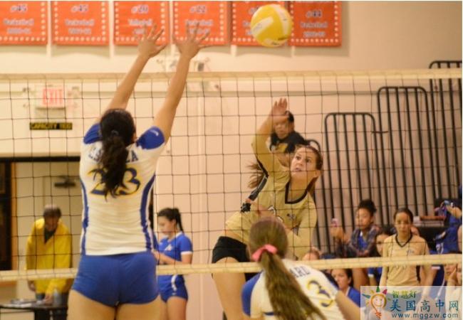 Bishop Montgomery High School-蒙哥马利主教中学-Bishop Montgomery High School的女子排球赛.png