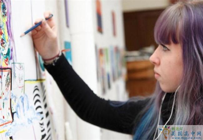 Buffalo Seminary -布法罗女子高中-Buffalo Seminary的艺术课