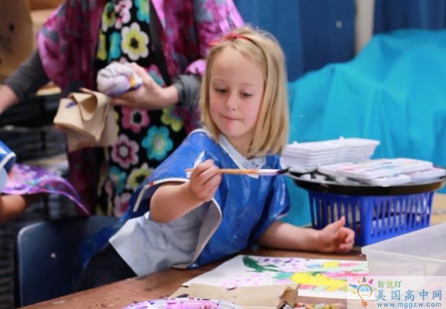 Carolina Day School-卡罗莱纳日中学-Carolina Day School的艺术课.png