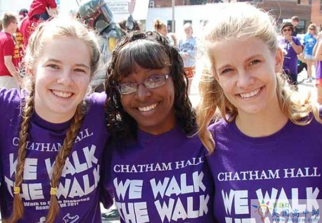 Chatham Hall-查塔姆霍尔女子中学-Chatham Hall的学生合影