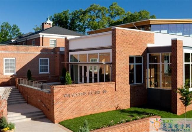 Chatham Hall-查塔姆霍尔女子中学-Chatham Hall的建筑 (2)