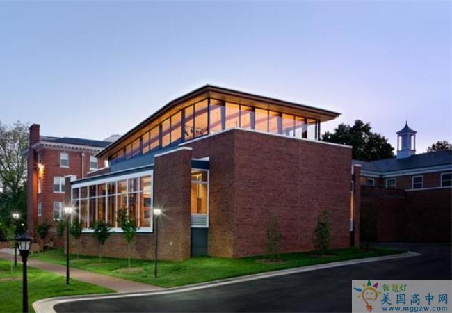 Chatham Hall-查塔姆霍尔女子中学-Chatham Hall的建筑