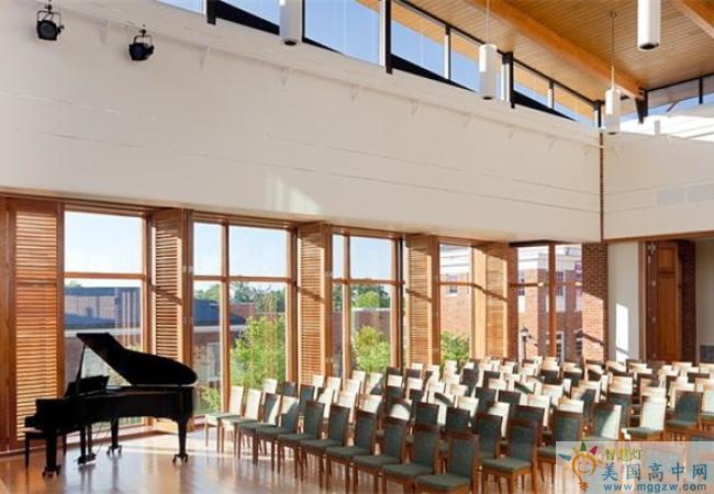 Chatham Hall-查塔姆霍尔女子中学-Chatham Hall的音乐厅
