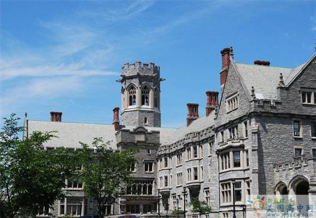Emma Willard School-艾玛威拉德高中-Emma Willard School的建筑