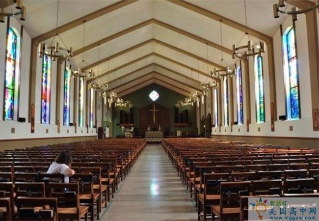 Episcopal High School-主教中学EHS-Episcopal High School的学校教堂