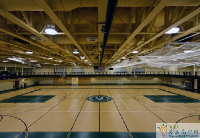 Foxcroft School -福克斯福特女子中学-Foxcroft School 的运动场