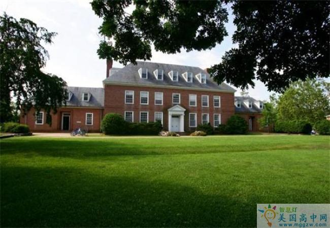 Foxcroft School -福克斯福特女子中学-Foxcroft School的学校建筑