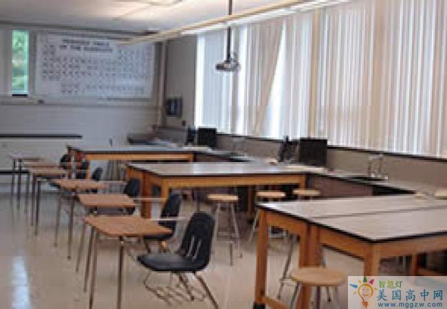 Fryeburg Academy-福莱伯中学-Fryeburg Academy的教室