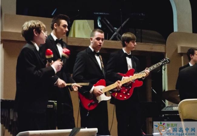 Garrison Forest School-格瑞森林中学-Garrison Forest School的吉他演奏