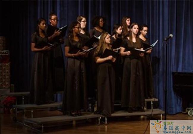 Garrison Forest School-格瑞森林中学-Garrison Forest School的音乐合唱