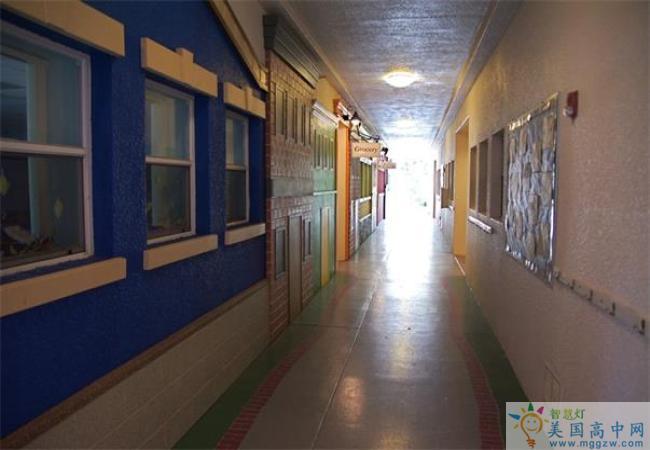 Grandview Preparatory School-格兰德维尤预备中学-Grandview Preparatory School走廊.jpg