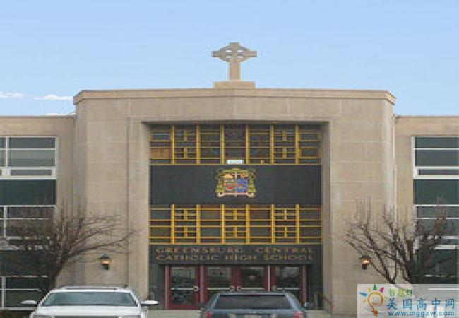 Greensburg Central Catholic High School-格林斯堡中央天主教中学-Greensburg Central Catholic High School的建筑.jpg