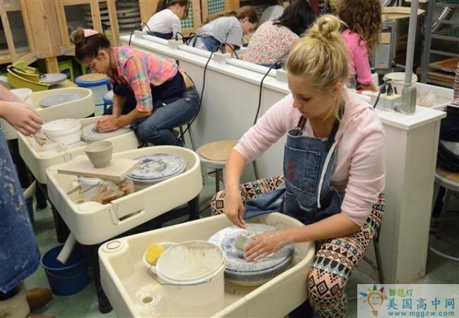 Grier School-葛瑞尔女子中学-Grier School的手工制作