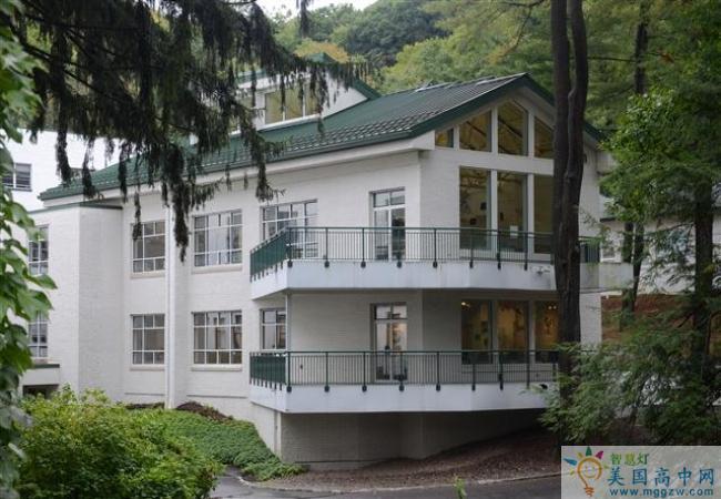 Grier School-葛瑞尔女子中学-Grier School的建筑
