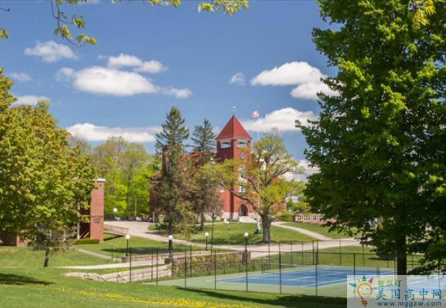 Hebron Academy-希尔伯中学-Hebron Academy的环境