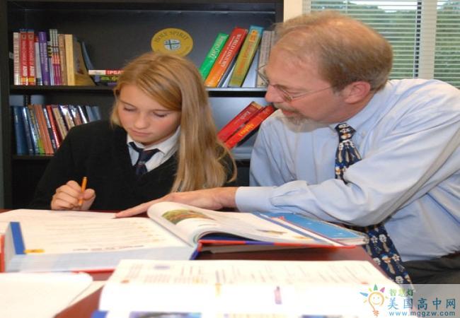 Holy Spirit Preparatory School-思博瑞特中学-Holy Spirit Preparatory School的学生们在课堂上.jpg