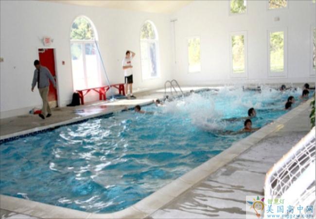 Hoosac School -湖沙克高中-Hoosac School的游泳池