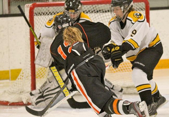 Kimball Union Academy -肯博联盟中学-Kimball Union Academy的冰球比赛